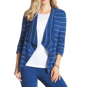 Chicos zenergy striped jacket 3